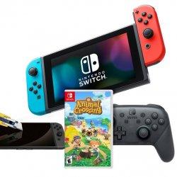 Nintendo Switch Bundle Neon Joy Con Animal Crossing Namepromo